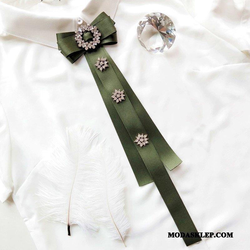 Damskie Muszka Tanie Płatek Śniegu Krawat Sukienka Rhinestone Dekoracja Oliwkowy Niebieski Zielony