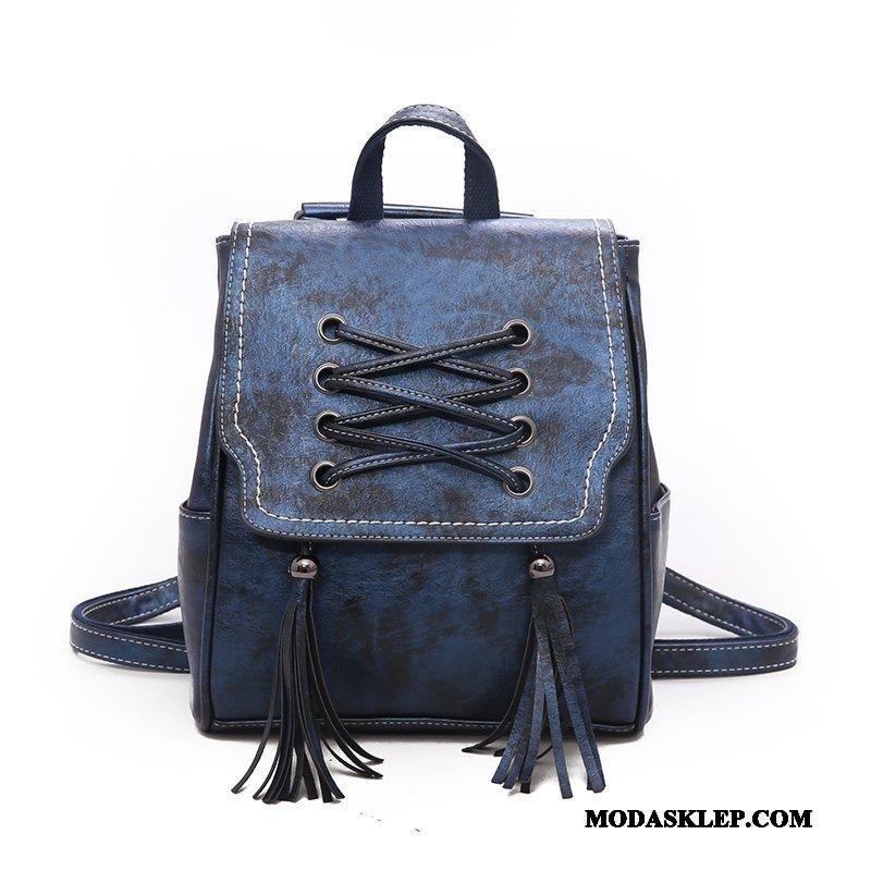 Damskie Plecak Kupię Podróż Moda Trendy Damska Wielofunkcyjne Niebieski