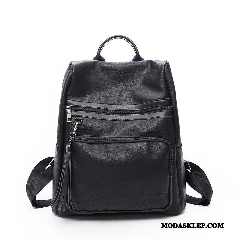 Damskie Plecak Sprzedam Wszystko Pasuje Moda Nowy Vintage Trendy Czarny