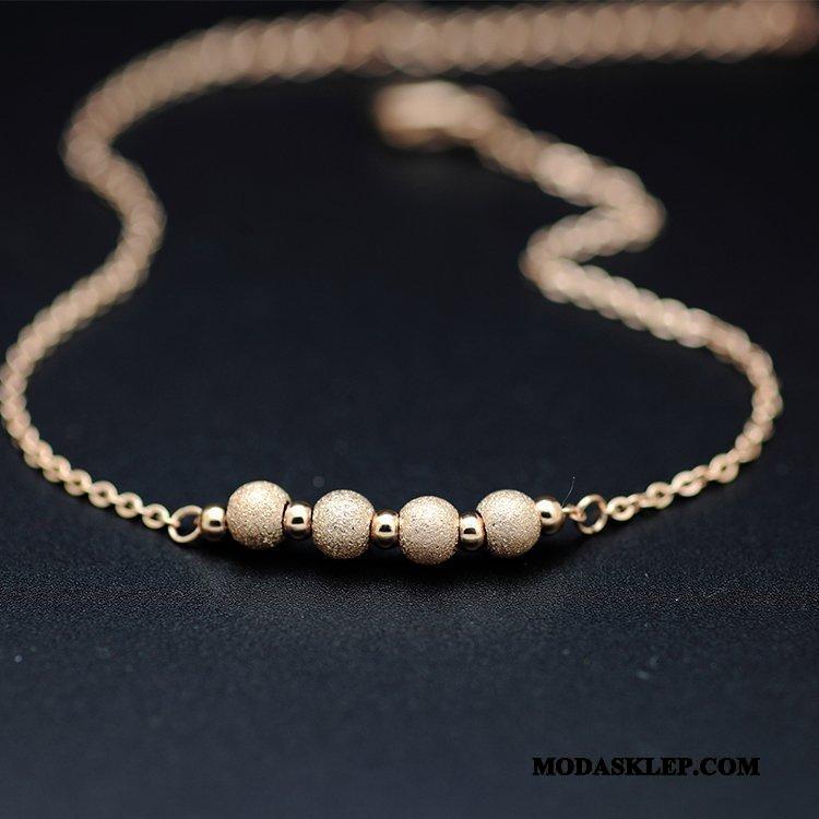 Damskie Srebrna Biżuteria Kupię Dobrze Moda Damska Nowy Akcesoria Róża Złoty