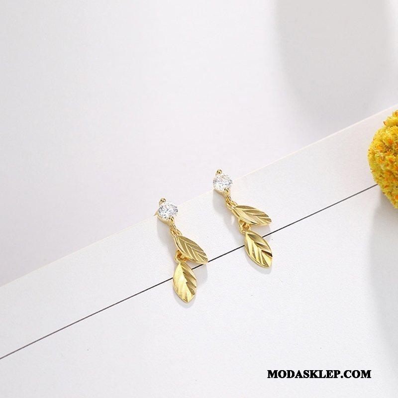 Damskie Srebrna Biżuteria Sprzedam Mały Mini Damska Eleganckie Szyk Złoty Srebrny Czerwony