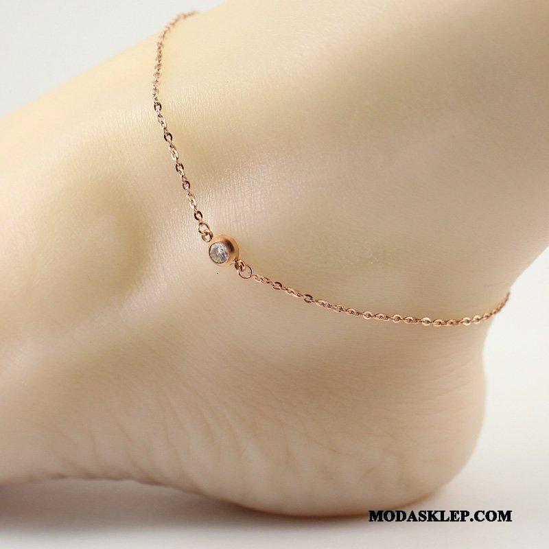 Damskie Srebrna Biżuteria Sprzedam Wszystko Pasuje Super Damska Akcesoria Eleganckie Róża Złoty