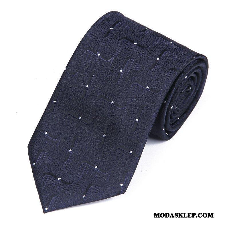 Męskie Krawat Na Sprzedaż Męska Biznes Sukienka Pan Młody Ślubna Burgund Niebieski Biały Czarny
