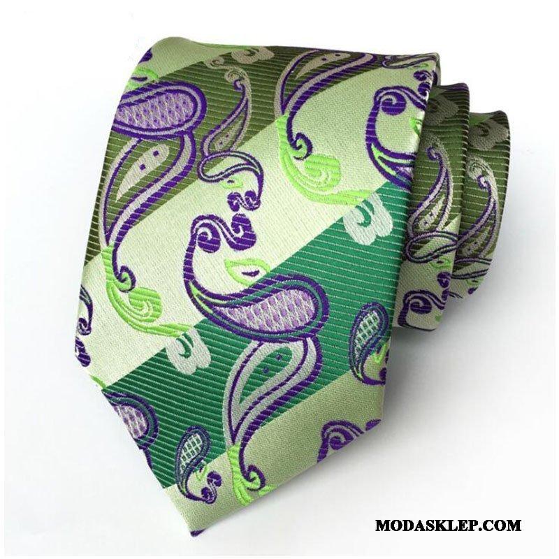 Męskie Krawat Oferta Brytyjski Sukienka Casual Biznes Wielki Zielony