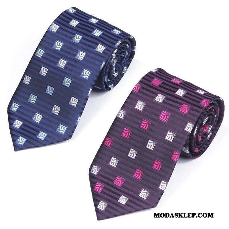 Męskie Krawat Online Męska Sukienka Biznes Pudełko Na Prezenty Z Pracy Niebieski