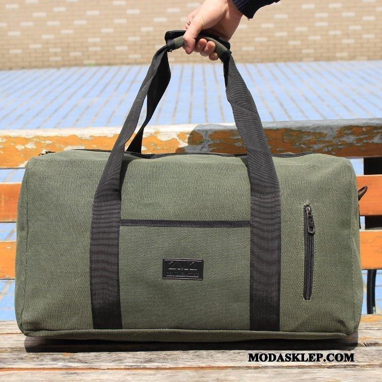 Męskie Plecak Podróżny Kupię Duża Pojemność Wielki Torba Podróżna Dla Grubych Płótno Zielony