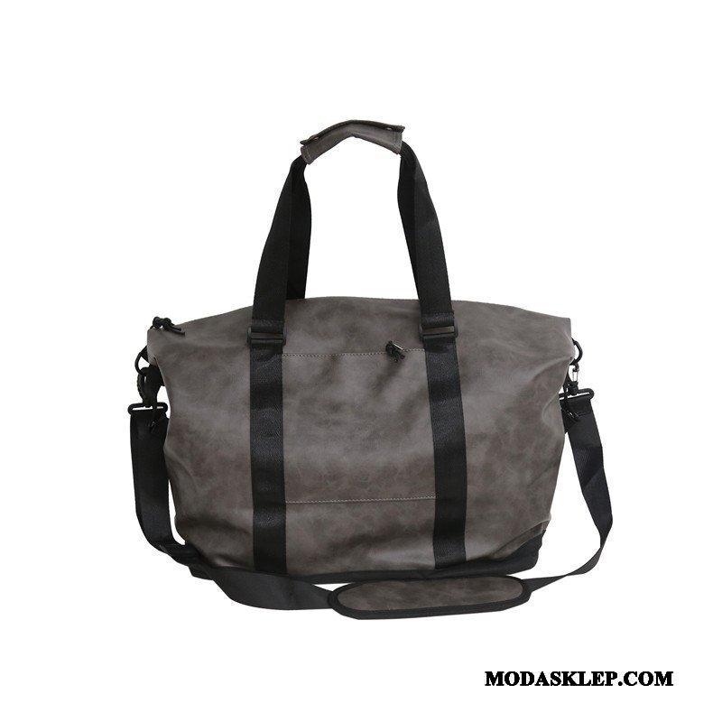 Męskie Plecak Podróżny Sprzedam Męska Podróż Służbowa Prosty Duża Pojemność Torba Podróżna Szary