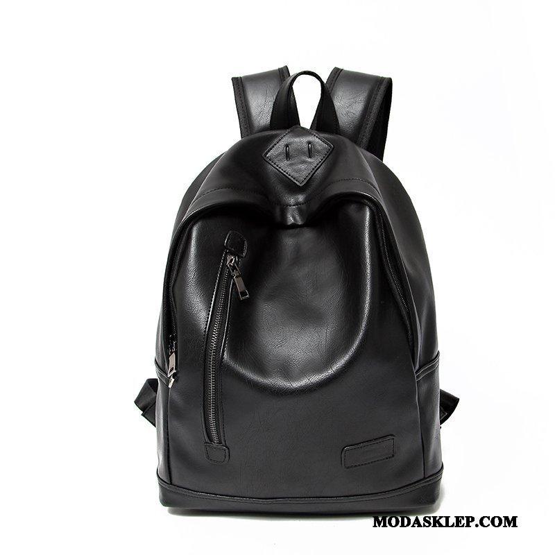 Męskie Plecak Sprzedam Młodzież Torba Podróżna Trendy Outdoor Moda Czarny