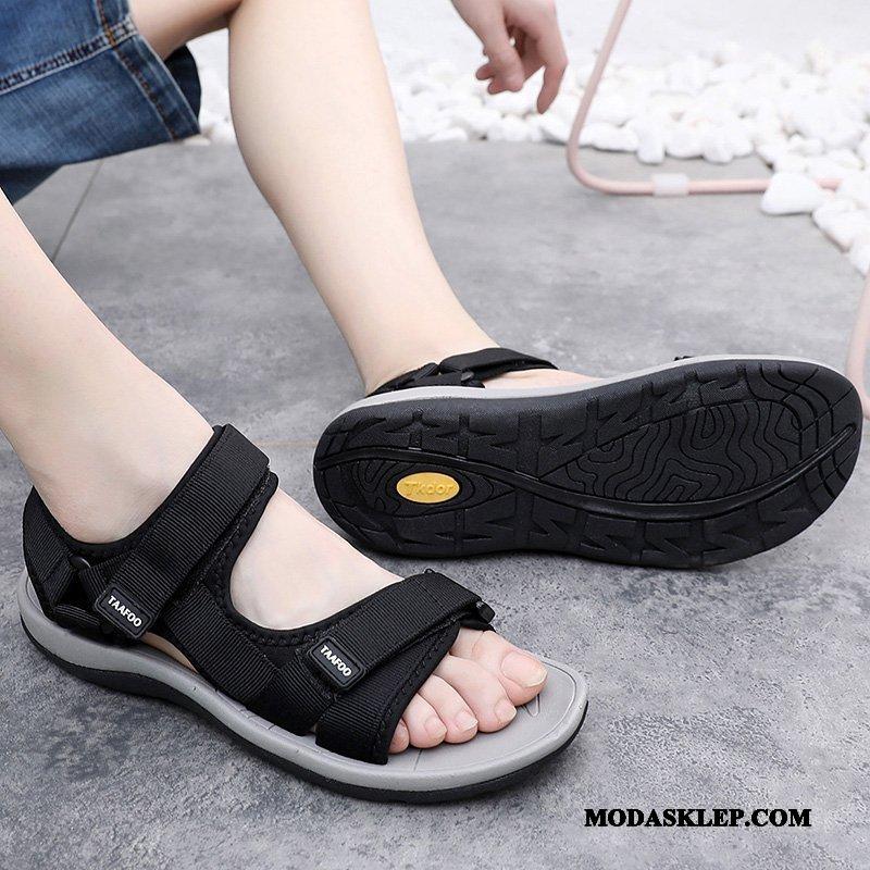 Męskie Sandały Kup Buty 2019 Tendencja Casual Outdoor Czarny