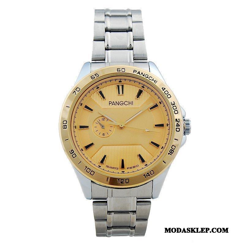 Męskie Zegarek Na Rękę Sprzedam Casual Dekoracja Męska Damska Zegarek Kwarcowy Złoty