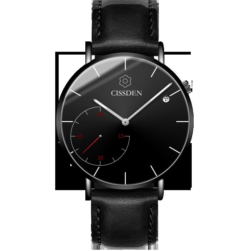 Męskie Zegarek Na Rękę Sprzedam Męska Siatkowe Trendy Średni Wodoodporny Czarny Czerwony
